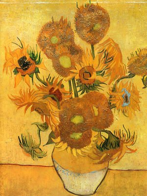 Vincent Van Gogh - Vase With Fifteen Sunflowers II