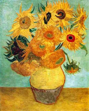 Vincent Van Gogh - Vase With Twelve Sunflowers II