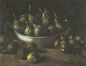Vincent Van Gogh - Still Life With An Earthen Bowl And Pears