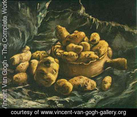 Vincent Van Gogh - Still Life With An Earthen Bowl And Potatoes