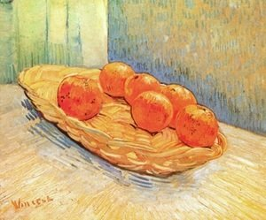 Vincent Van Gogh - Still Life With Basket And Six Oranges