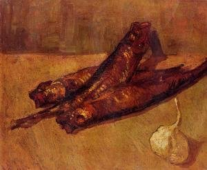 Vincent Van Gogh - Still Life With Bloaters And Garlic