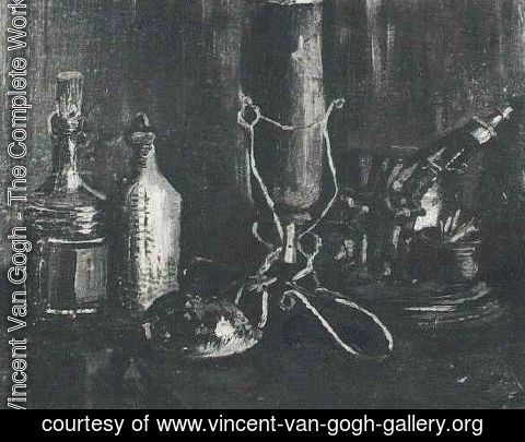 Vincent Van Gogh - Still Life With Bottles And A Cowrie Shell