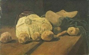 Vincent Van Gogh - Still Life With Cabbage And Clogs