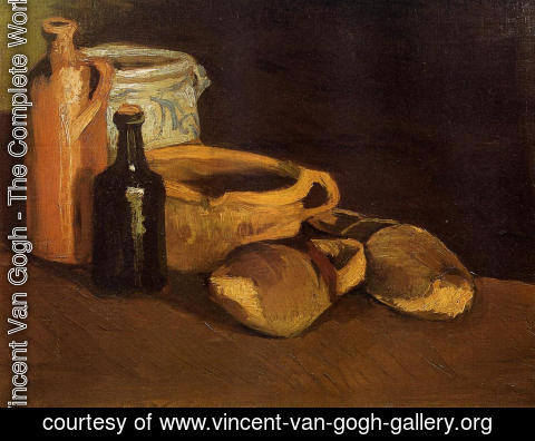 Vincent Van Gogh - Still Life With Clogs And Pots