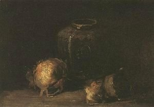 Vincent Van Gogh - Still Life With Ginger Jar And Onions