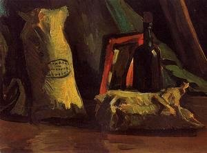 Vincent Van Gogh - Still Life With Two Sacks And A Bottle