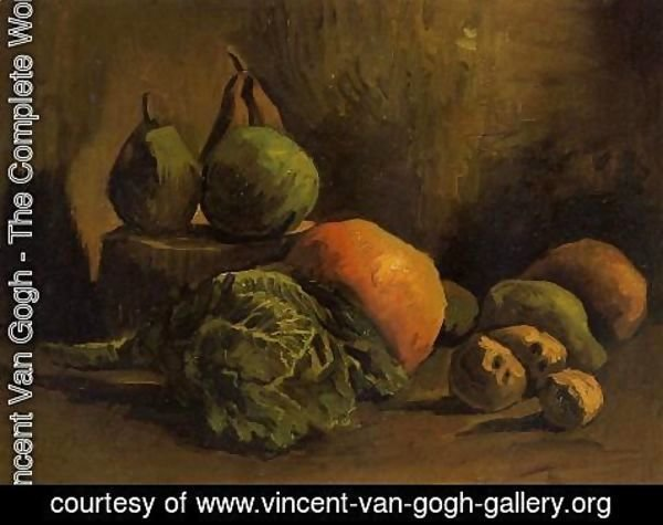 Vincent Van Gogh - Still Life With Vegetables And Fruit