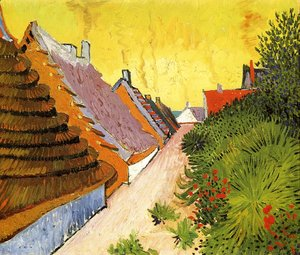 Vincent Van Gogh - Street In Saintes Maries