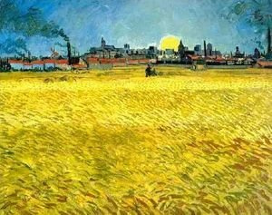Vincent Van Gogh - Wheat Fields Near Arles