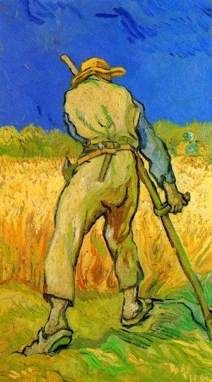 Vincent Van Gogh - The Reaper (after Millet)
