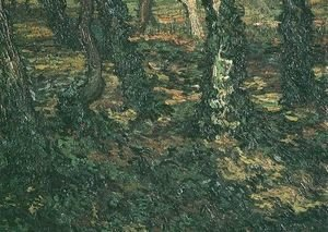 Vincent Van Gogh - Tree Trunks With Ivy II