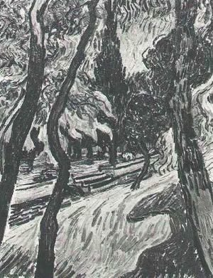 Vincent Van Gogh - Trees In The Garden Of Saint Paul Hospital III