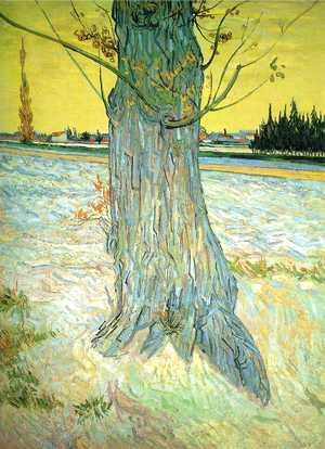 Vincent Van Gogh - Trunk Of An Old Yew Tree