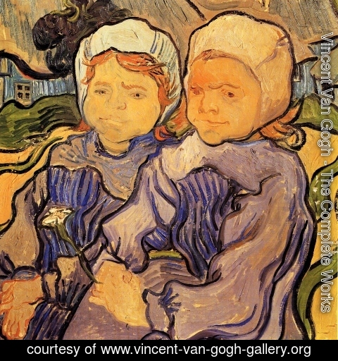 Vincent Van Gogh - Two Children II
