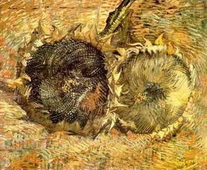 Vincent Van Gogh - Two Cut Sunflowers II