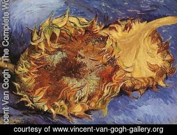 Vincent Van Gogh - Two Cut Sunflowers III