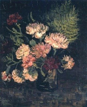 Vase With Carnations III