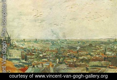 Vincent Van Gogh - View Of Paris From Montmartre
