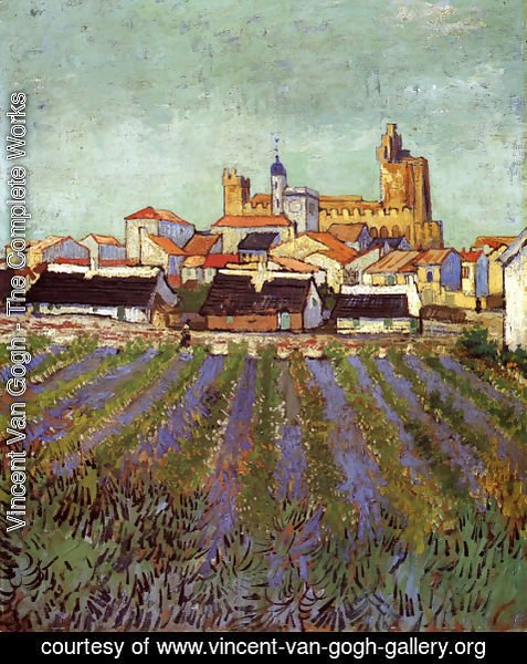 Vincent Van Gogh - View Of Saintes Maries