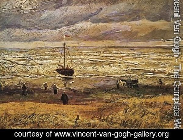Vincent Van Gogh - View Of The Sea At Scheveningen