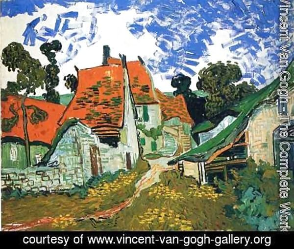 Vincent Van Gogh - Village Street In Auvers