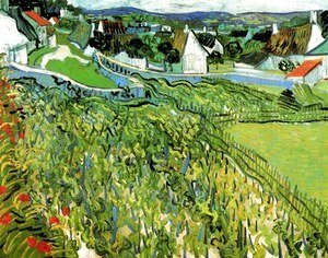 Vineyards With A View Of Auvers