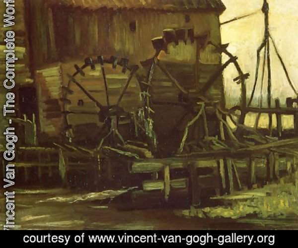 Vincent Van Gogh - Water Mill At Gennep III