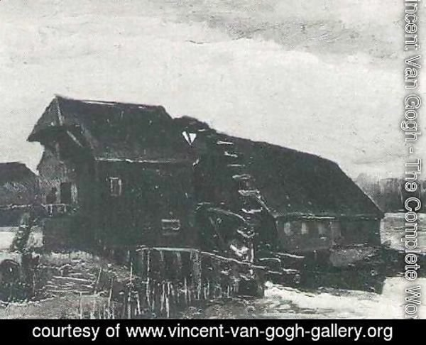 Vincent Van Gogh - Water Mill At Opwetten