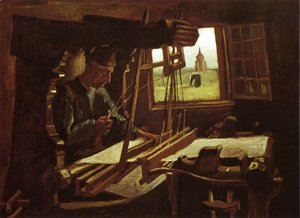 Vincent Van Gogh - Weaver Near An Open Window