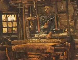 Vincent Van Gogh - Weaver Seen From The Front II