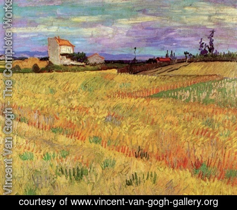 Vincent Van Gogh - Wheat Field