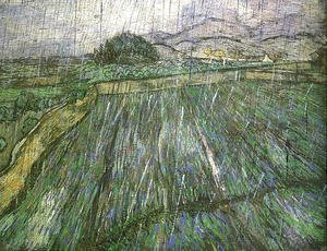 Vincent Van Gogh - Wheat Field In Rain