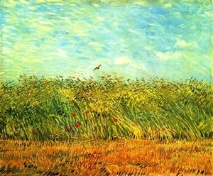 Vincent Van Gogh - Wheat Field With A Lark