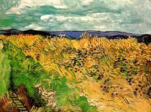 Vincent Van Gogh - Wheat Field With Cornflowers