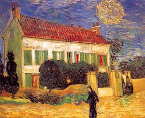 Vincent Van Gogh - The White House At Night