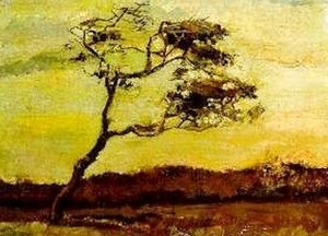 Vincent Van Gogh - Wind Beaten Tree A