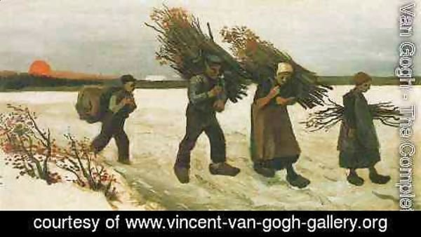 Vincent Van Gogh - Wood Gatherers In The Snow