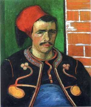 Vincent Van Gogh - The Zouave (Half Length)