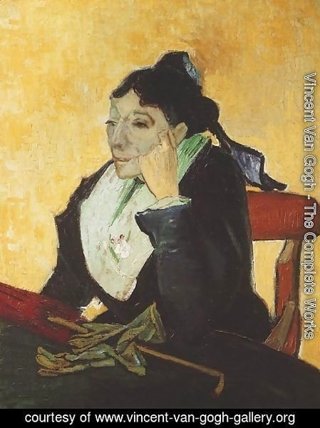 Vincent Van Gogh - Woman of Arles