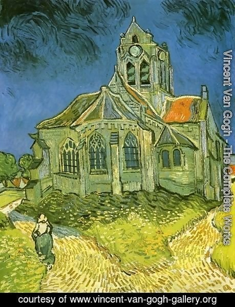Vincent Van Gogh - Church at Auvers
