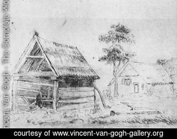 Vincent Van Gogh - Farm and Shed
