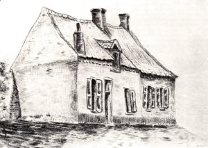 Vincent Van Gogh - Zandmennik's House