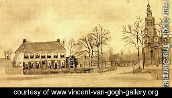 Vincent Van Gogh - Church and Parsonage at Etten