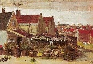 Vincent Van Gogh - Drying House at Scheveningen