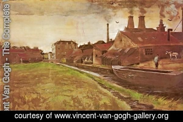 Vincent Van Gogh - Factory of M. Enhoven