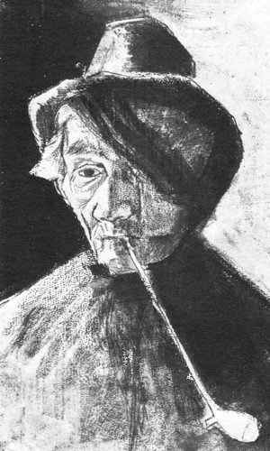 Vincent Van Gogh - Man with Clay Pipe and Bandaged Eye
