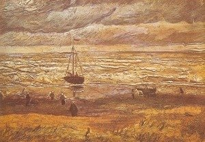 Vincent Van Gogh - Beach at Scheveningen