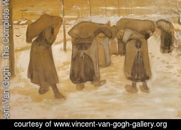 Vincent Van Gogh - Miners' Wives