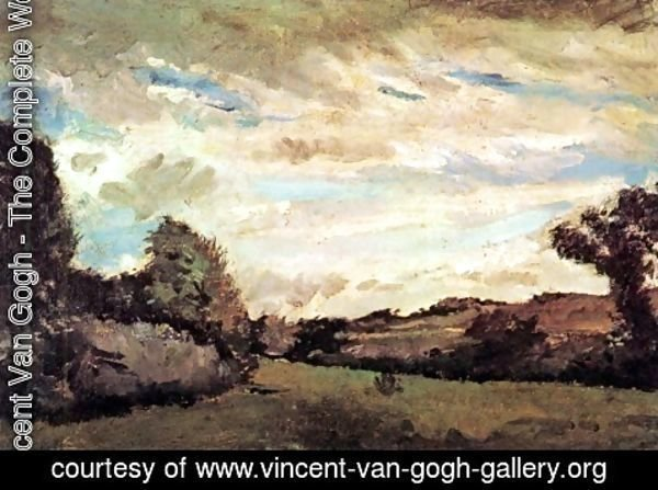 Vincent Van Gogh - Landscape with Dunes